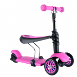 Trotineta Y volution Glider 3 in 1 pink