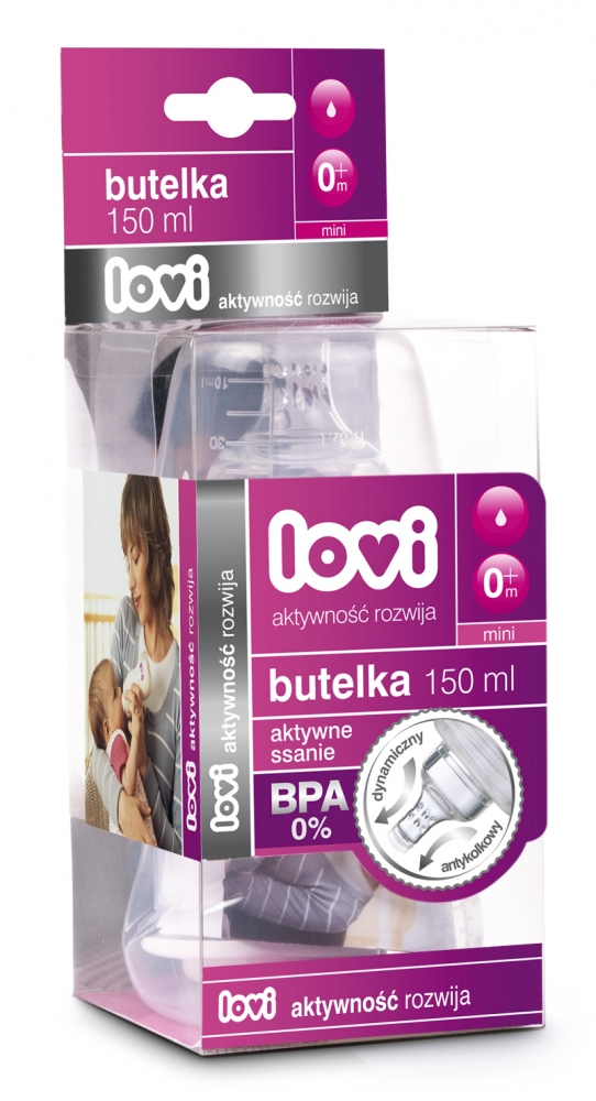 Biberon LOVI 125 ml BPA 0