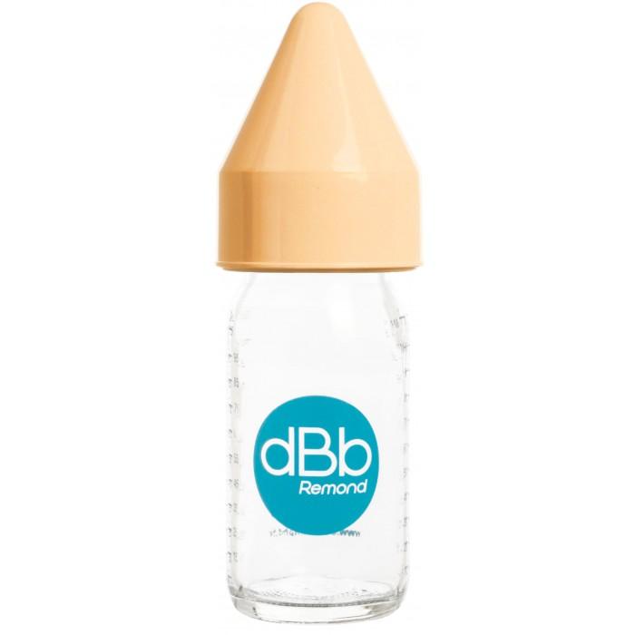 Biberon sticla 110 ml, Regul Air, tetina anticolici din cauciuc NN 0-4 luni (caramel)