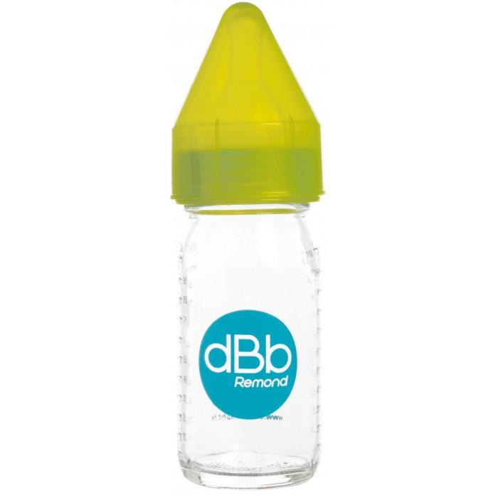 Biberon sticla 110 ml Regul Air tetina anticolici din silicon NN 0-4 luni verde dBb Remond