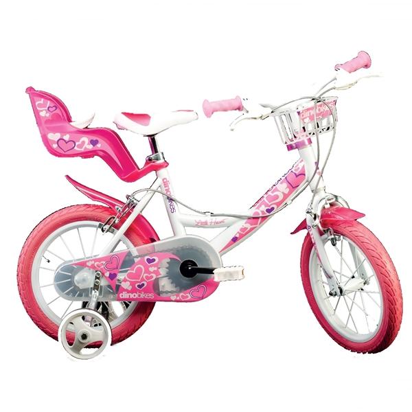 Bicicleta pentru fetite cu diametru 16 inch 164 RN