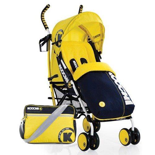 Carucior sport Koochi Speedstar Primary Yellow
