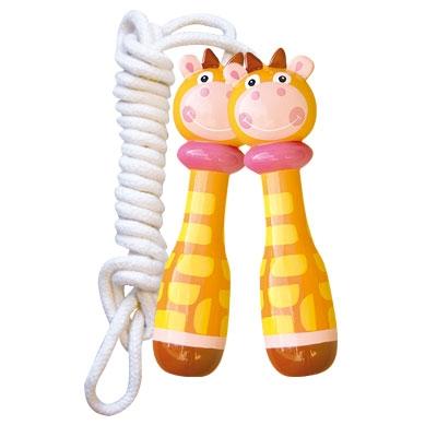 Coarda cu manere din lemn - girafa