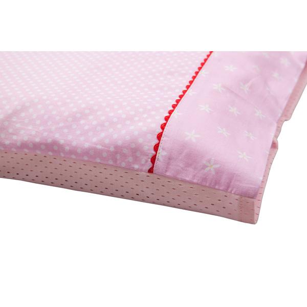 Fata de perna pentru bebelusi roz cu imprimeu 7507 Clevamama