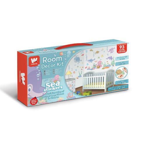 Kit Decor Baby Under the Sea