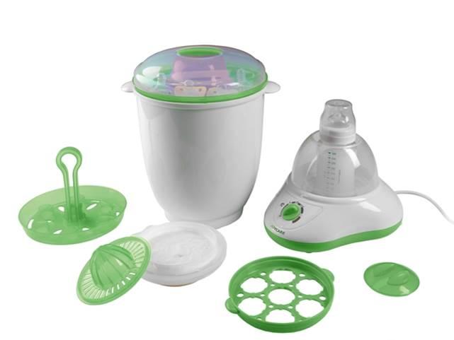 Kit pentru gatirea hranei bebelusului 5 in 1 JC-221