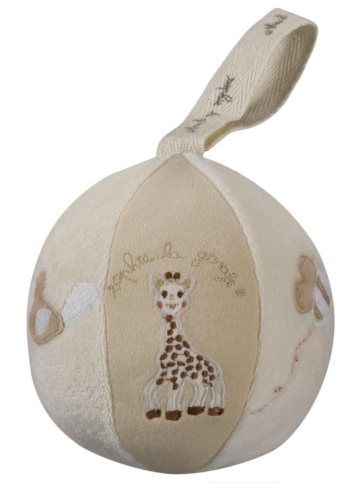 Minge din bumbac organic Sopure - Girafa Sophie