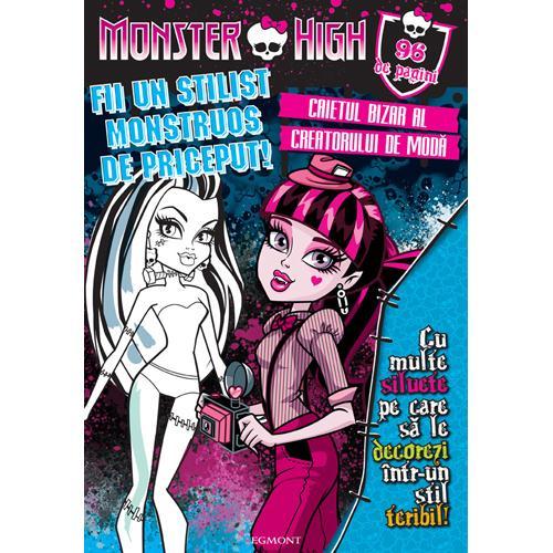 Monster High - Caietul Bizar al Creatorului de Moda