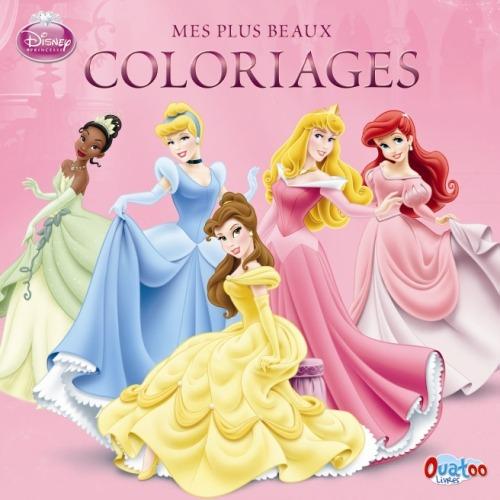 Carte de colorat printese Disney