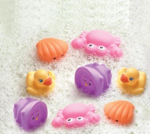 Oub  8 Animale de baie roz