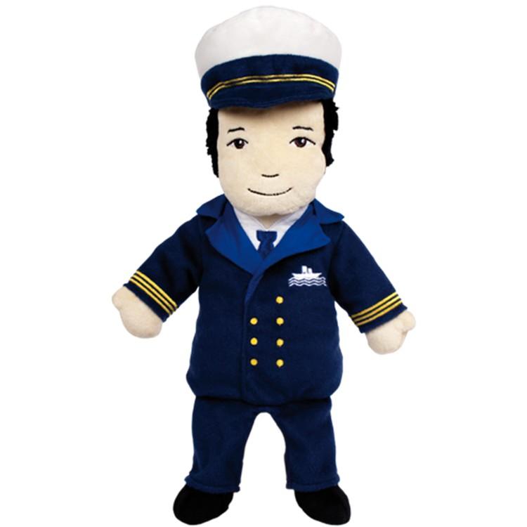 Papusa de mana Capitanul Ling Ping