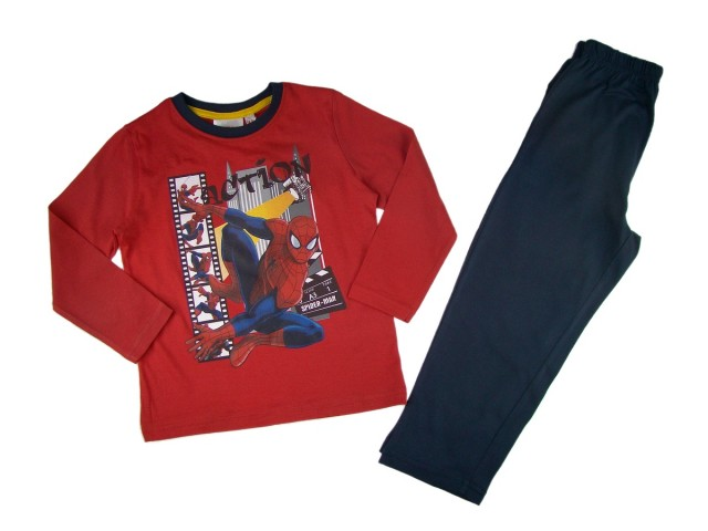Pijama copii Spiderman (Masura 104 (3-4 ani))