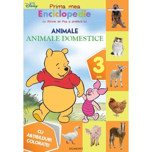 Prima Mea Enciclopedie cu Winnie - Animale Domestice