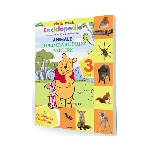 Prima Mea Enciclopedie cu Winnie - O Plimbare prin Padure