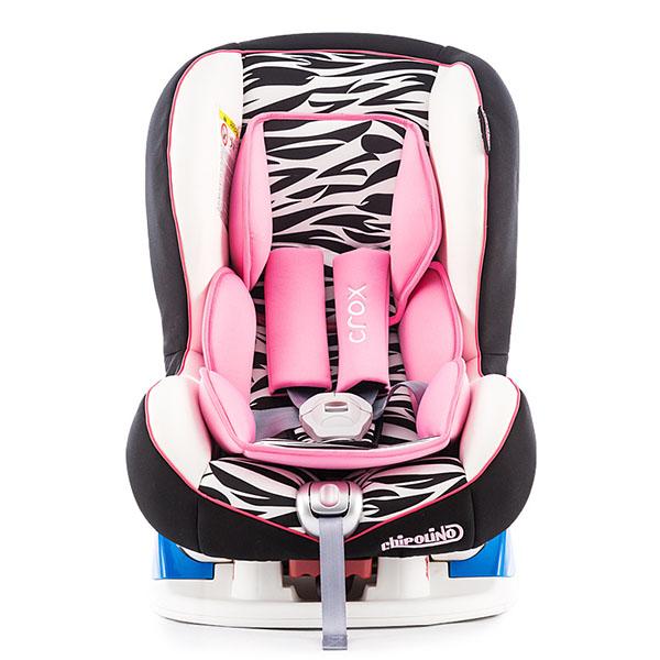 Scaun auto Chipolino Crox pink 2015