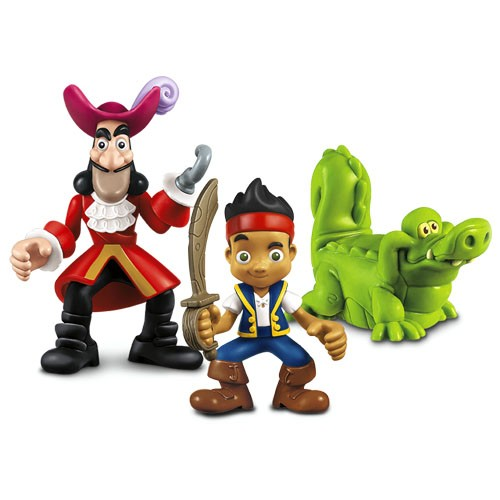 Set 3 figurine - Jack, Hook si Croc