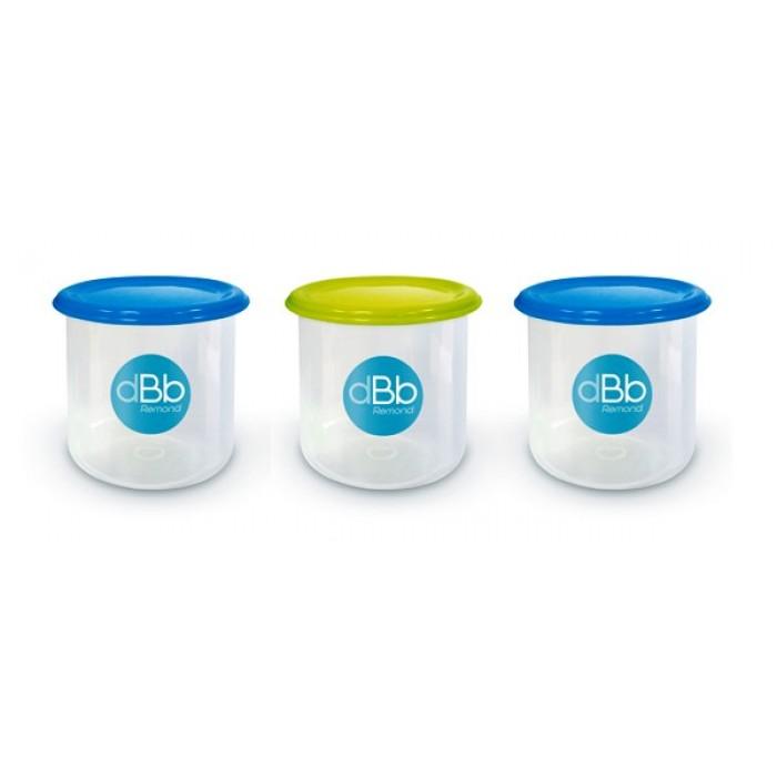 Set 3 recipiente congelare (capacitate 300ml) dBb Remond