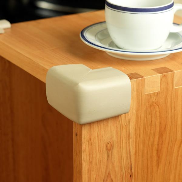 Set 4 pernute XL protectoare colturi mobilier 7102 Clevamama imagine