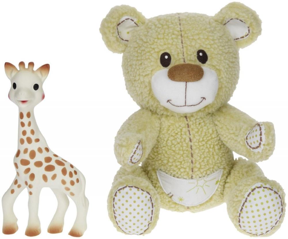 Set Girafa Sophie si Ursuletul Gabin