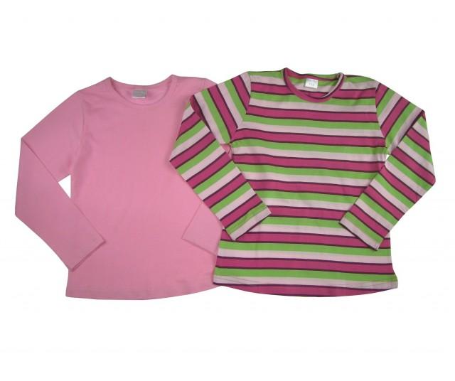 Set doua bluze fete Steps material bumbac (Masura 92 (1.5-2 ani))