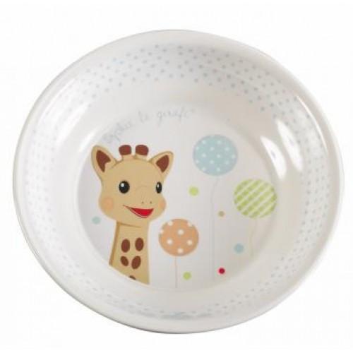 Set pentru masa Girafa Sophie baloane in blister