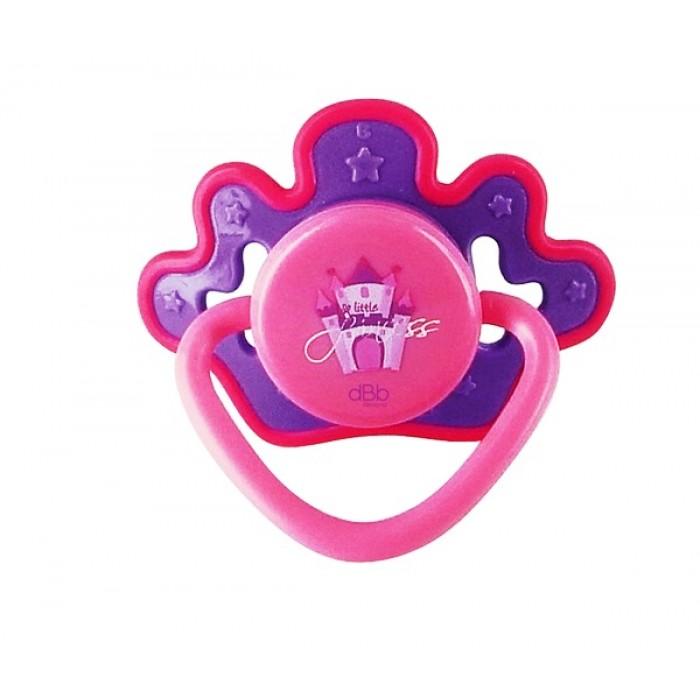 Suzete ortodontica din silicon, 6 luni +, Princesse roz