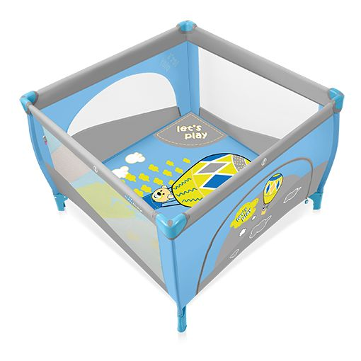 Tarc de joaca Baby Design Play Blue
