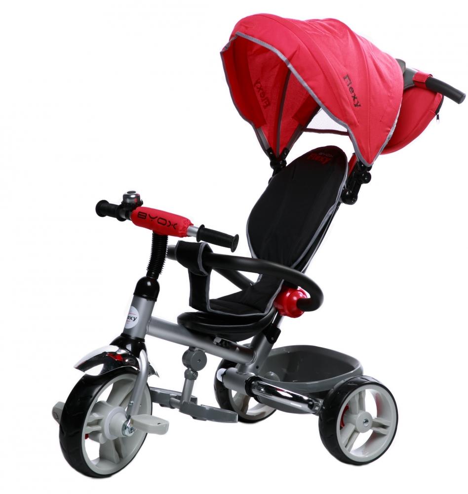 Tricicleta pentru copii Byox Flexy Rosie imagine