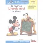 Carte Sa Invatam Literele Mici cu Mickey