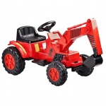Excavator electric Toyz Digger 6V Rosu