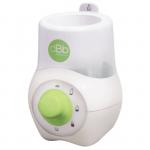Incalzitor electric biberoane casa New Style (alb cu verde)