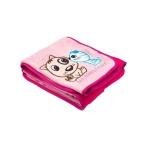 Paturica Puppy & Kitten 100x75 cm pink