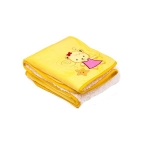 Paturica Sweet Bears 100x75 cm yellow