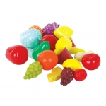 Set 21 fructe din plastic