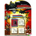 Set 3 stampile - Cum sa iti dresezi Dragonul