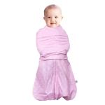 Sistem de infasare pentru bebelusi 3 in 1 pink 3-6 luni Clevamama