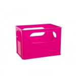 Suport uscator 6 biberoane - roz