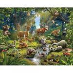 Tapet pentru Copii Animals of the Forest