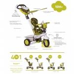 Tricicleta Smart Trike Dream 4 in 1 Green