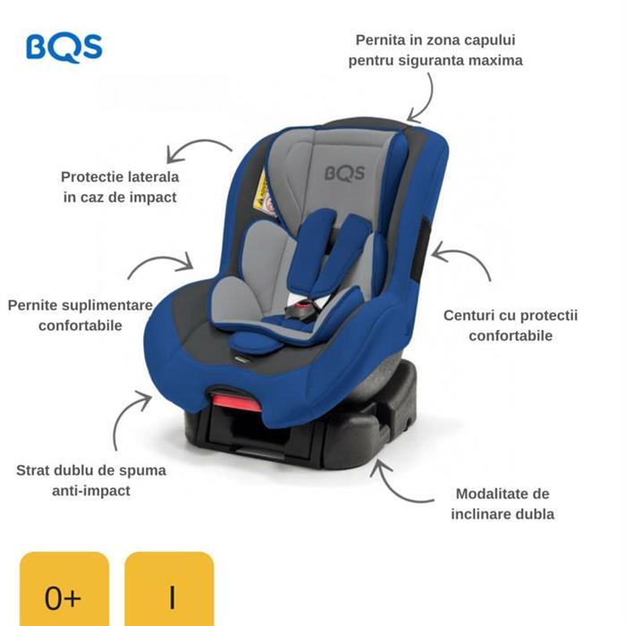 Scaun auto 0-18 kg Nonna Blue