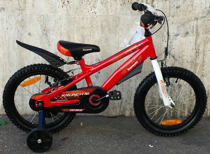 Bicicleta copii Kawasaki Krunch red 14 Ironway