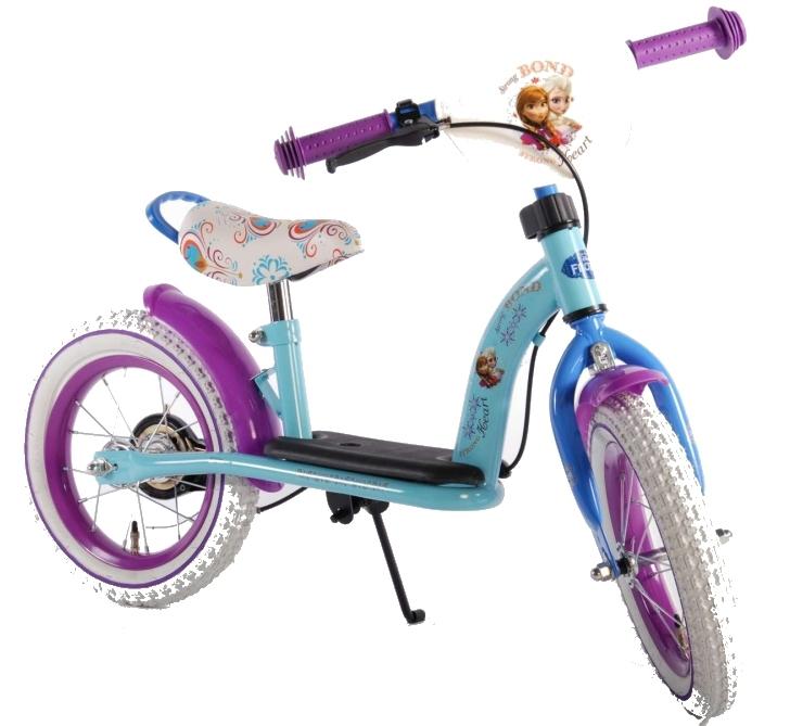 Bicicleta fara pedale Frozen blue 12 inch