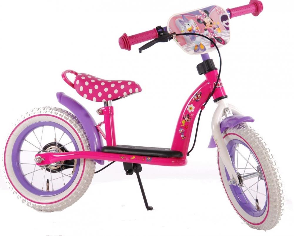 Bicicleta fara pedale Minnie Bow-Tique 12 inch