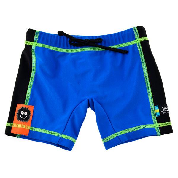 Boxer Blue Black Marime L Swimpy