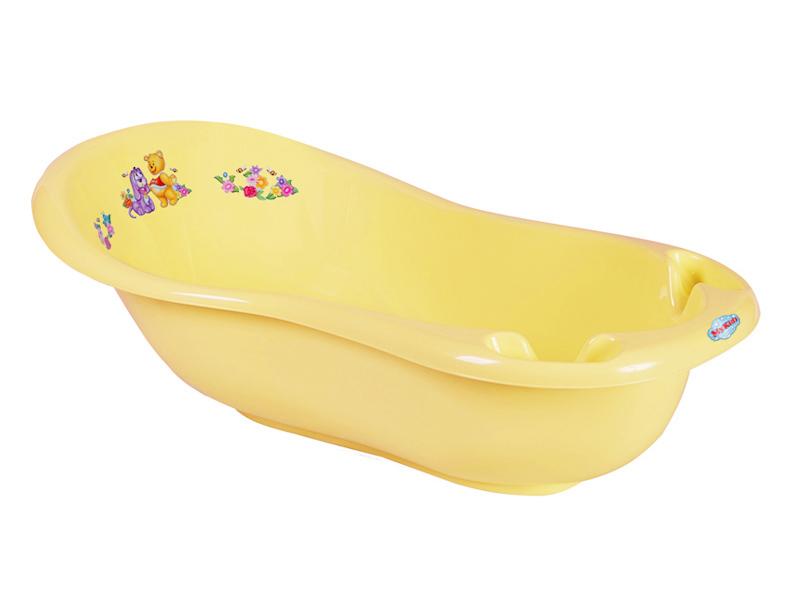 Cadita de baie bebe cu termometru Kubus 100 cm