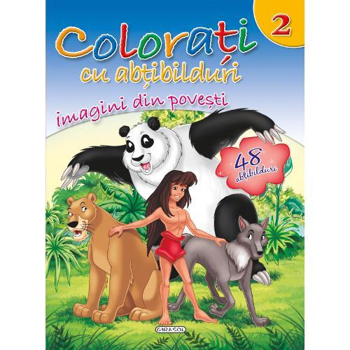 Colorati cu Abtibilduri, Nr.2 - Imagini din Povesti