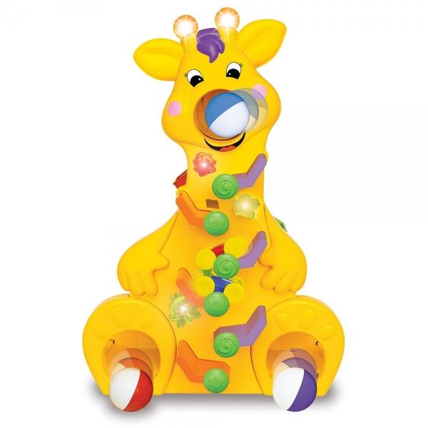 Girafa muzicala Kiddieland cu lumini