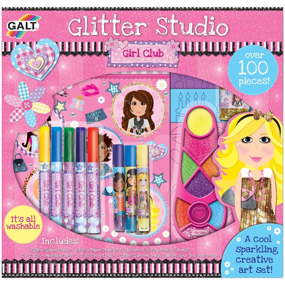 Girl Club Set de creatie Glitter Studio