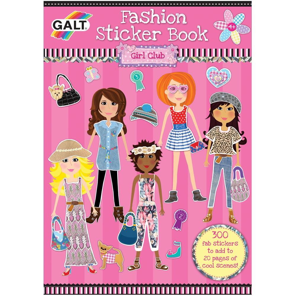 Girl club - Carte abtibilduri Fashion