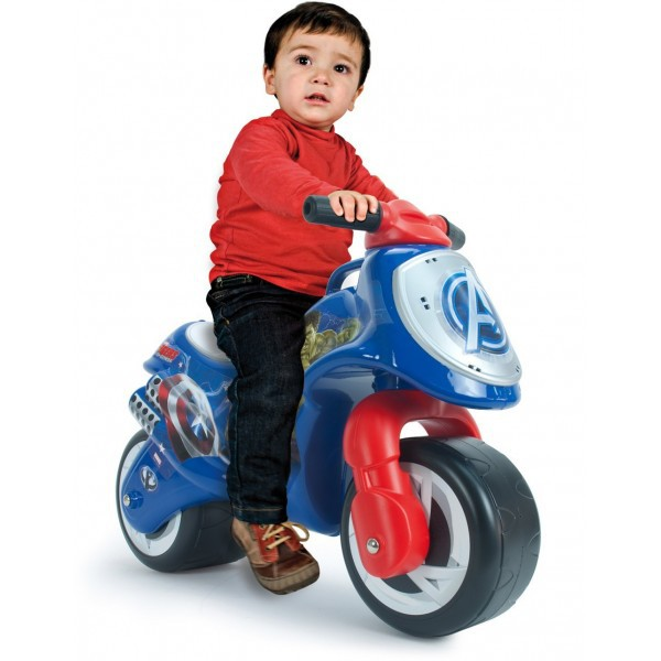 Bicicleta fara pedale Injusa Neox Avengers